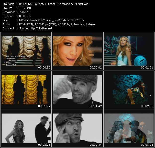 Los Del Rio Feat. T. Lopez video screenshot