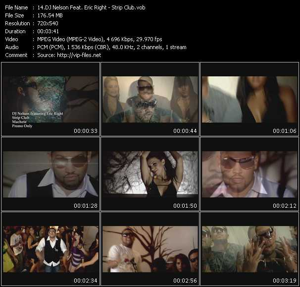 Dj Nelson Feat. Eric Right video screenshot