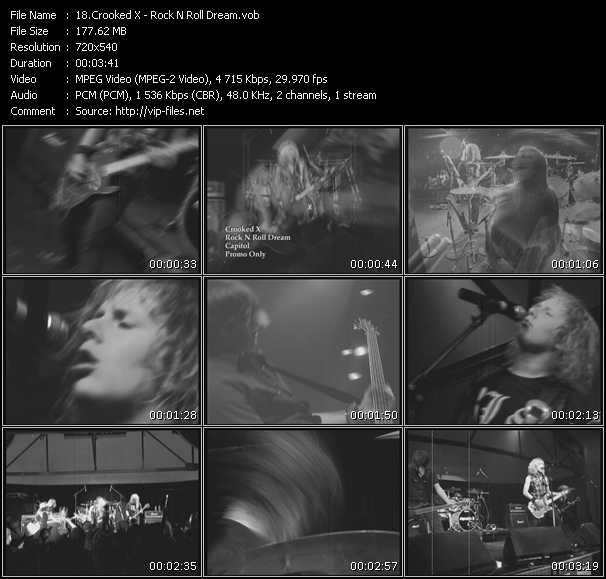 Crooked X video screenshot