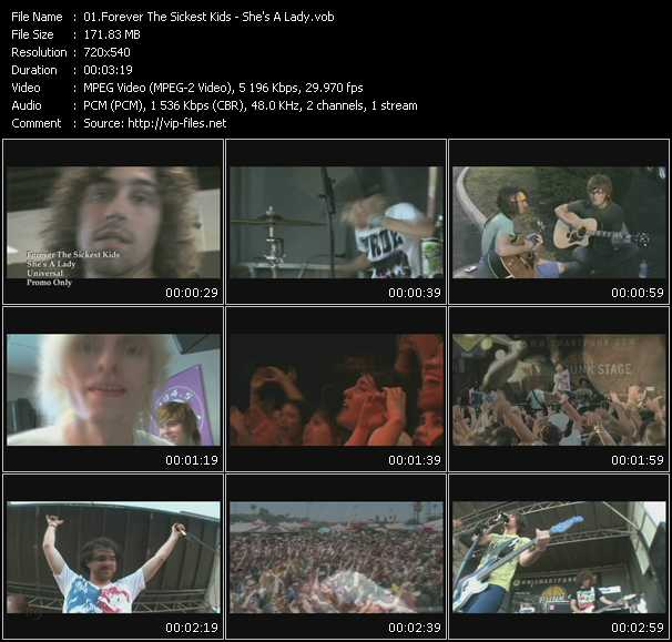 Forever The Sickest Kids video screenshot
