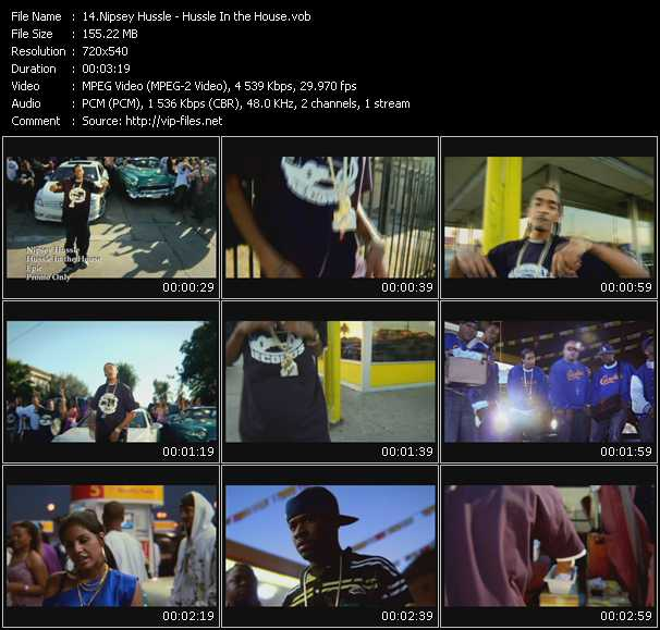 Nipsey Hussle video screenshot