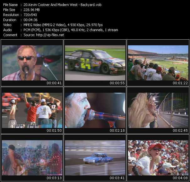 Kevin Costner And Modern West video screenshot