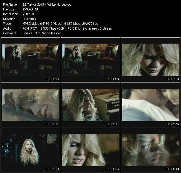 Taylor Swift video screenshot