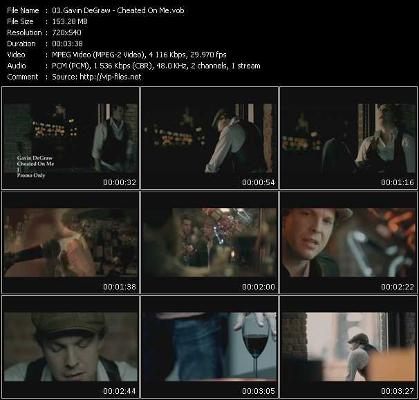 Gavin DeGraw video screenshot