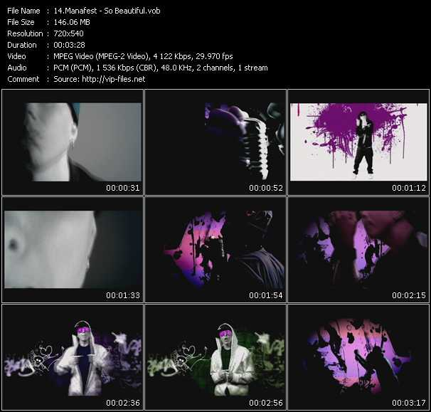 Manafest video screenshot