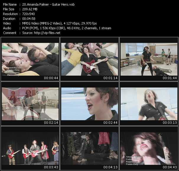 Amanda Palmer video screenshot