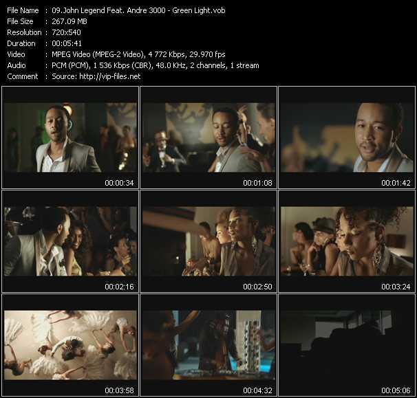 John Legend Feat. Andre 3000 video screenshot