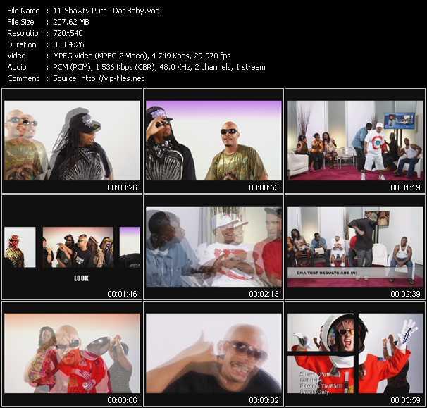 video Dat Baby screen
