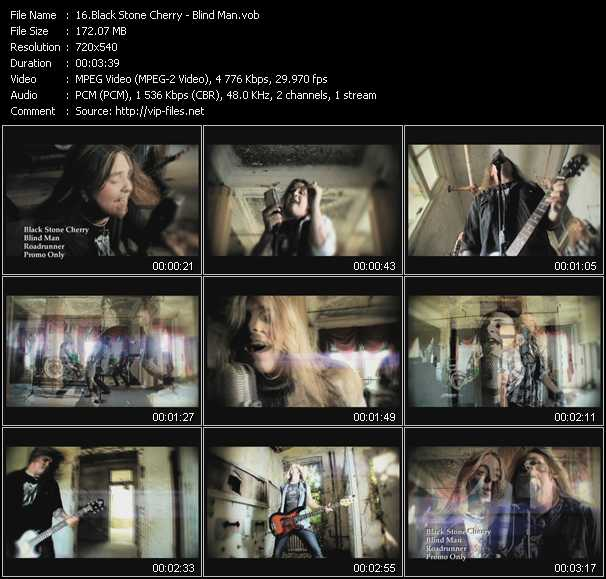 Black Stone Cherry video screenshot