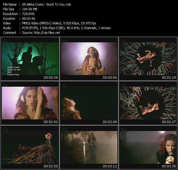Nikka Costa video screenshot