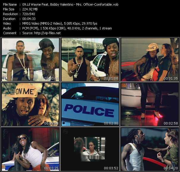 Lil' Wayne Feat. Bobby Valentino (Bobby V) video screenshot