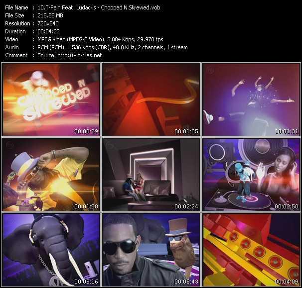 T-Pain Feat. Ludacris video screenshot