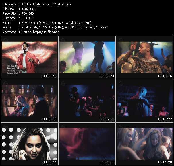 Joe Budden video screenshot