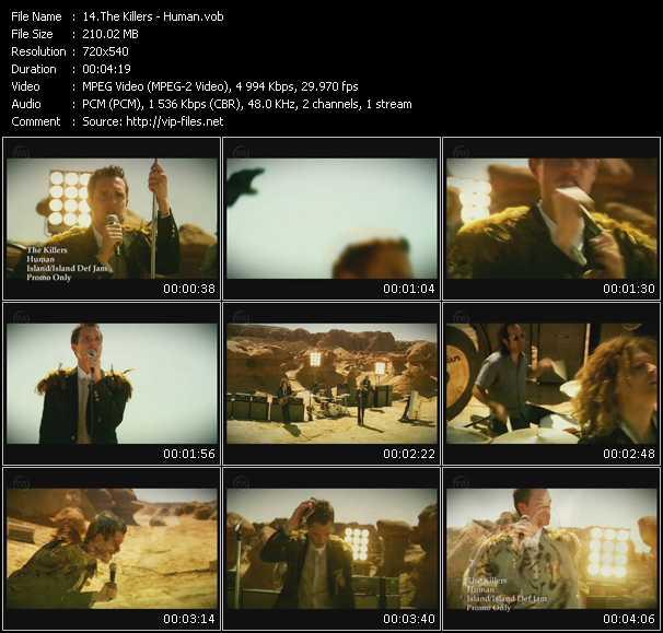 Killers video screenshot