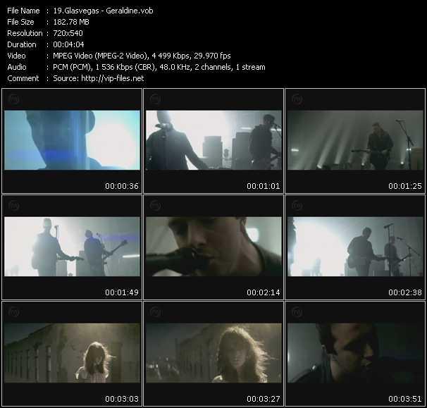 Glasvegas video screenshot