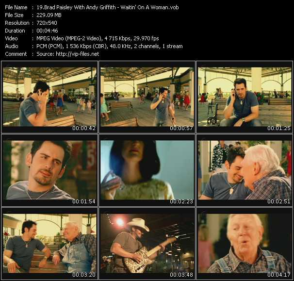 Brad Paisley With Andy Griffith video screenshot