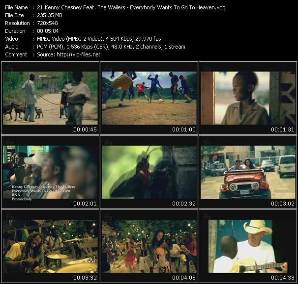 Kenny Chesney Feat. The Wailers video screenshot