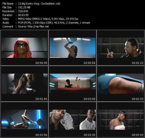 Big Kuntry King video screenshot