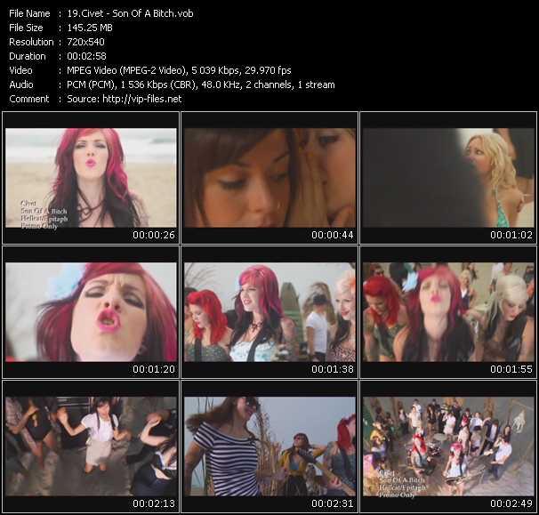 Civet video screenshot