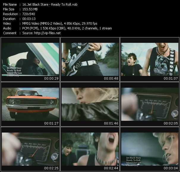 Jet Black Stare video screenshot