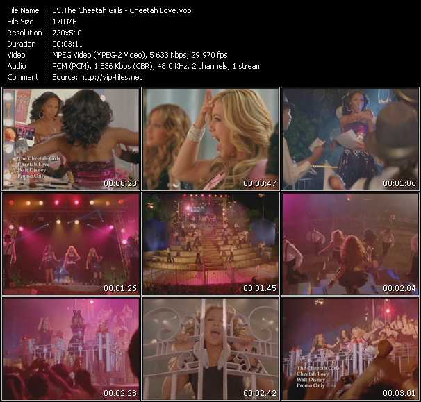 Cheetah Girls video screenshot