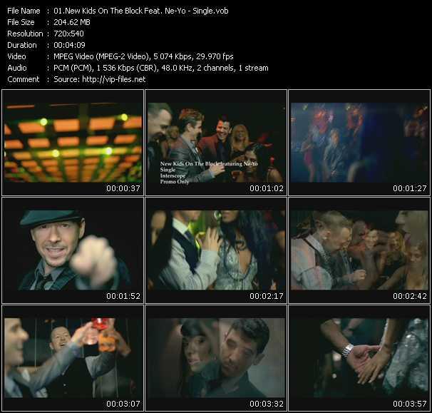 New Kids On The Block Feat. Ne-Yo video screenshot