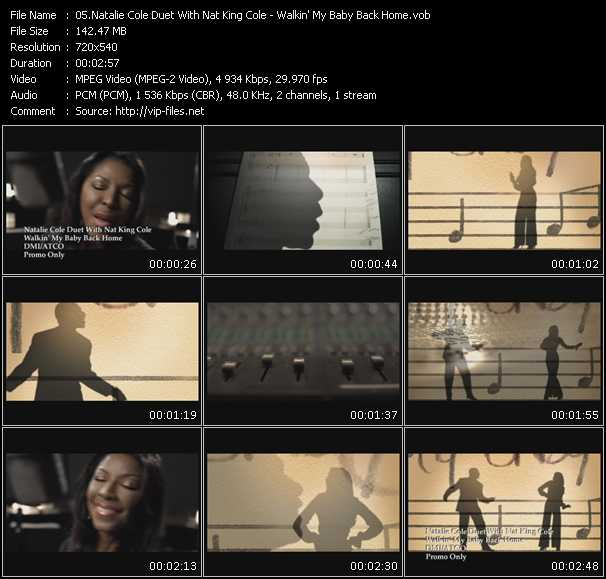 Natalie Cole Duet With Nat King Cole video screenshot