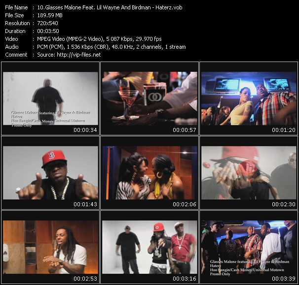 Glasses Malone Feat. Lil' Wayne And Birdman video screenshot