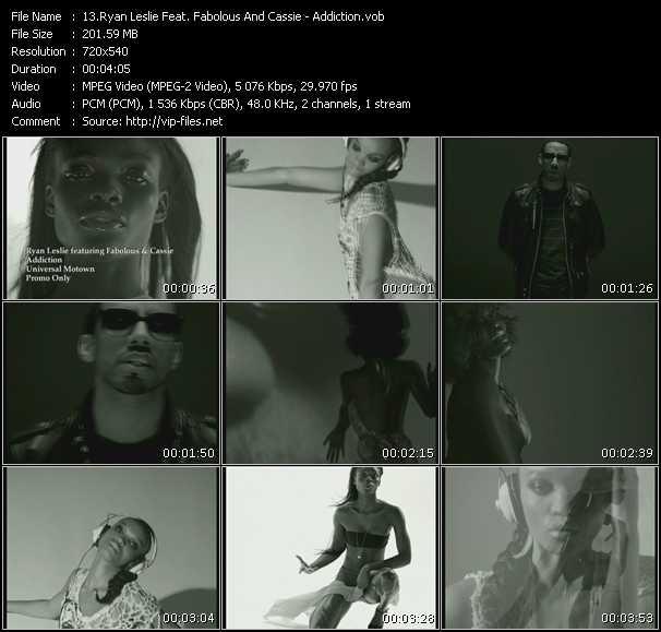 Ryan Leslie Feat. Fabolous And Cassie video screenshot