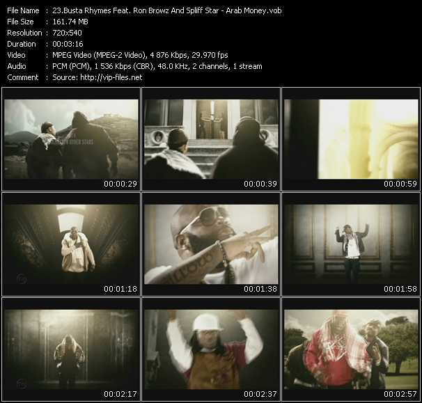 Busta Rhymes Feat. Ron Browz And Spliff Star video screenshot