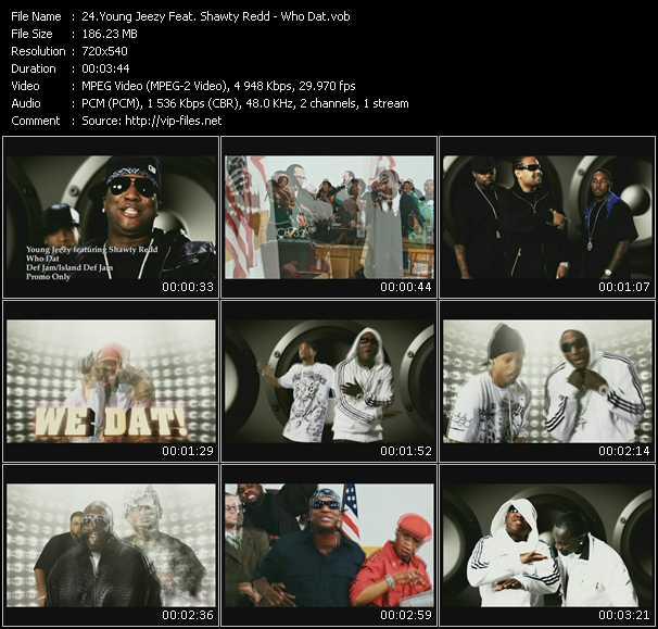 Young Jeezy Feat. Shawty Redd video screenshot