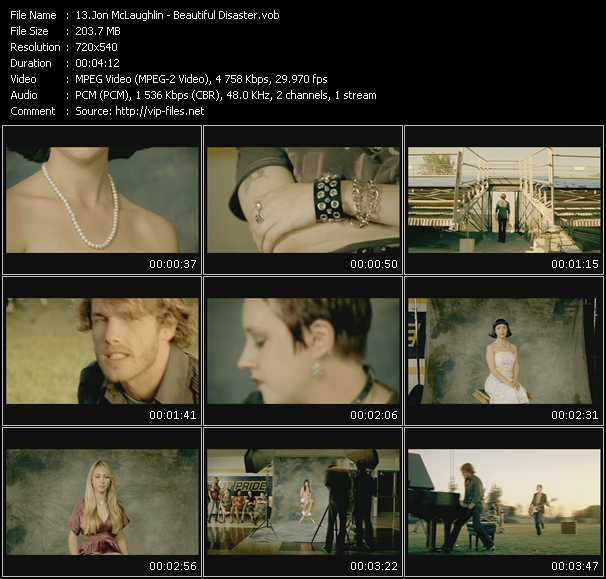 Jon McLaughlin video screenshot