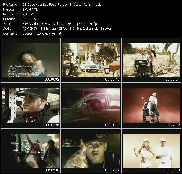 Daddy Yankee Feat. Fergie video screenshot