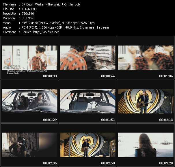 Butch Walker video screenshot