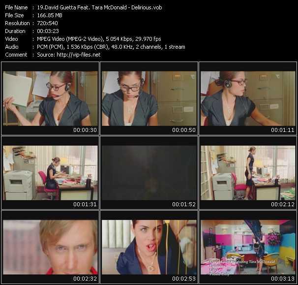 David Guetta Feat. Tara McDonald video screenshot
