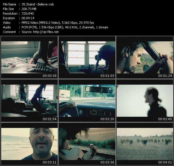 Staind video screenshot