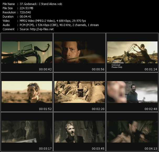 Godsmack video screenshot