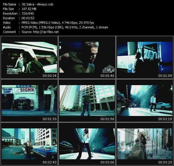 Saliva video screenshot
