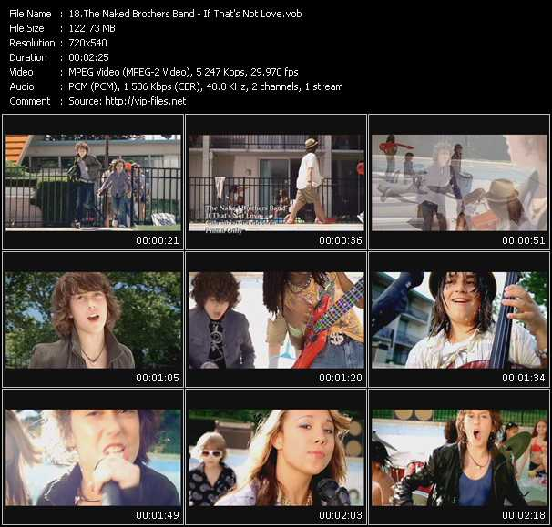 Naked Brothers Band video screenshot
