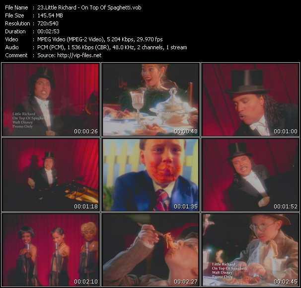 Little Richard video screenshot