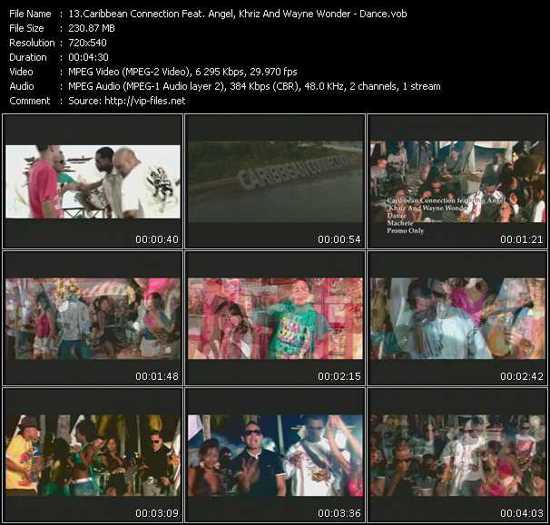 Caribbean Connection Feat. Angel And Khriz And Wayne Wonder video screenshot