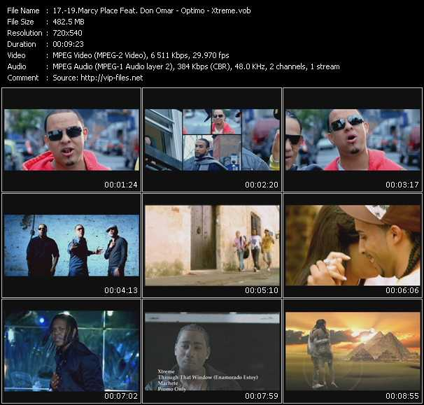 Marcy Place Feat. Don Omar - Optimo - Xtreme video screenshot