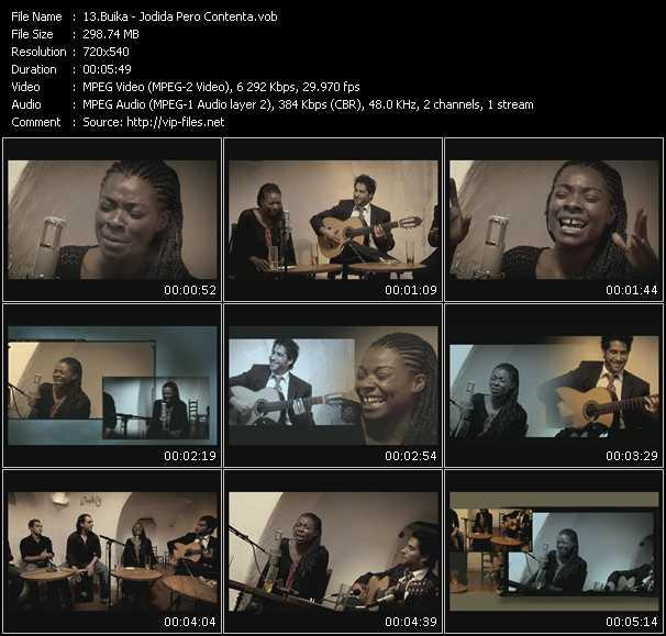Buika video screenshot