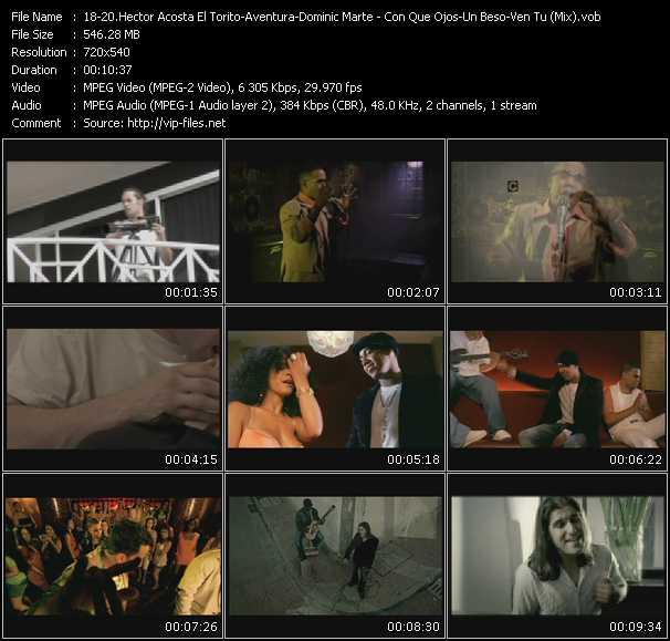 Hector Acosta El Torito - Aventura - Dominic Marte video screenshot