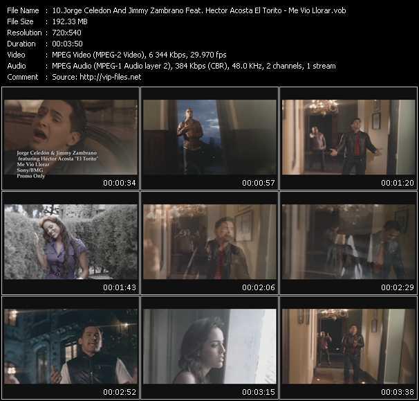 video Me Vio Llorar screen