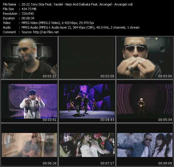 Tony Dize Feat. Yandel - Nejo And Dalmata Feat. Arcangel - Arcangel video screenshot