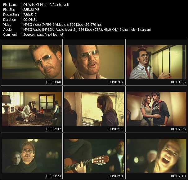 Willy Chirino video screenshot