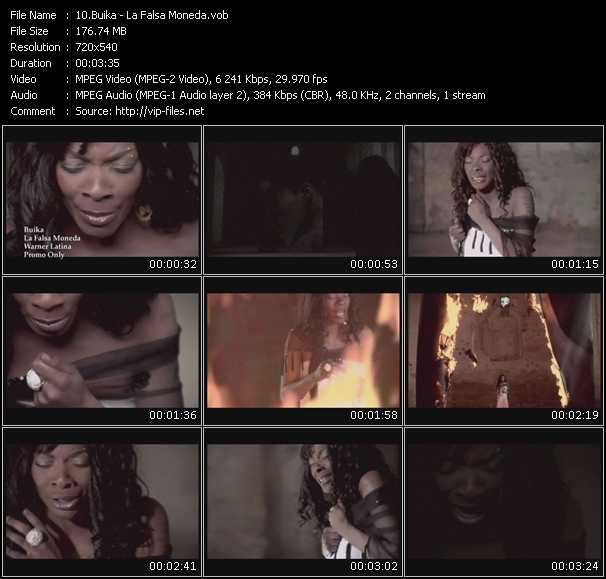 Buika video screenshot