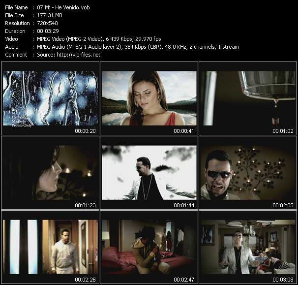 Mj video screenshot