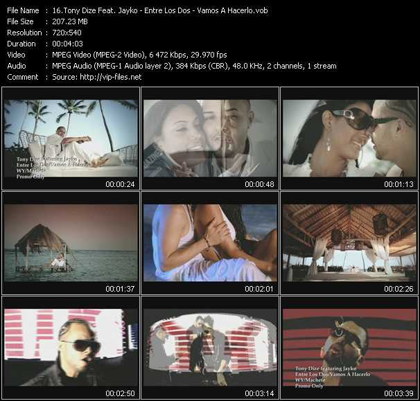 Tony Dize Feat. Jayko video screenshot